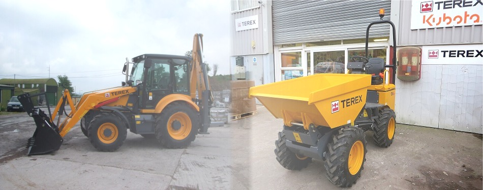 MP Crowley, Cork - Irish Franchise Holders for Terex Backhoe Loaders