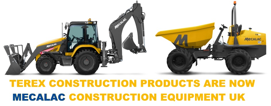 Terex Construction Products are now Mecalac Construction Equipment UK and are now available from M P Crowley (Cork) Ltd., Ireland.